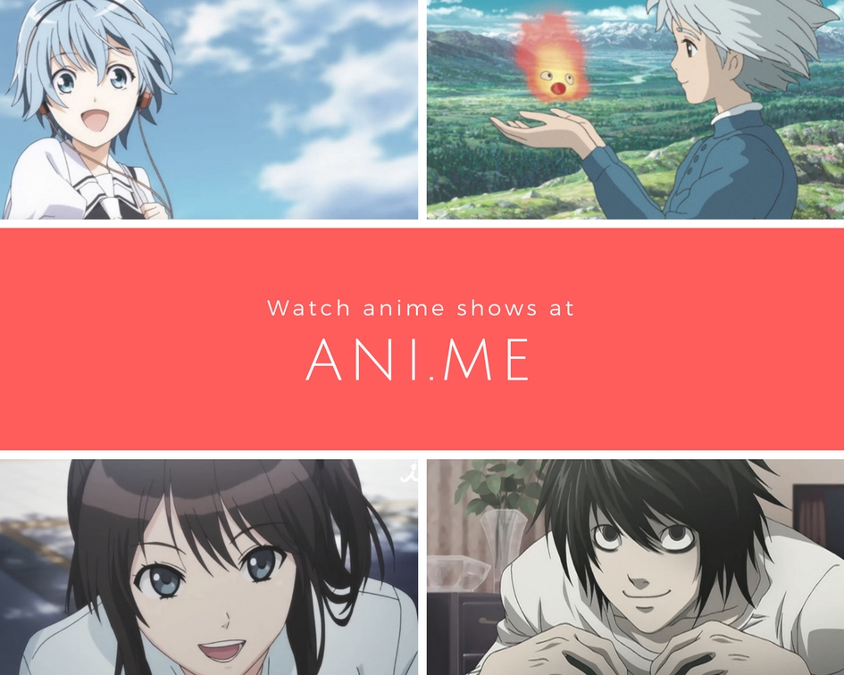 Ani.ME link anime streaming site