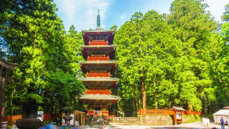 5 storey pagoda