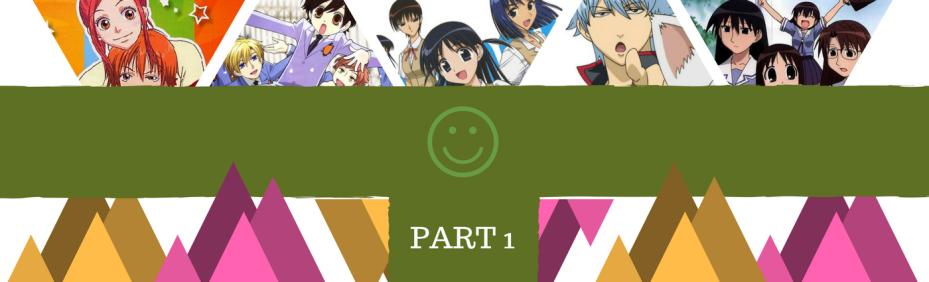 Top Comedy Anime