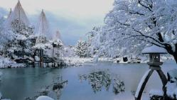 kenrokuen-garden winter