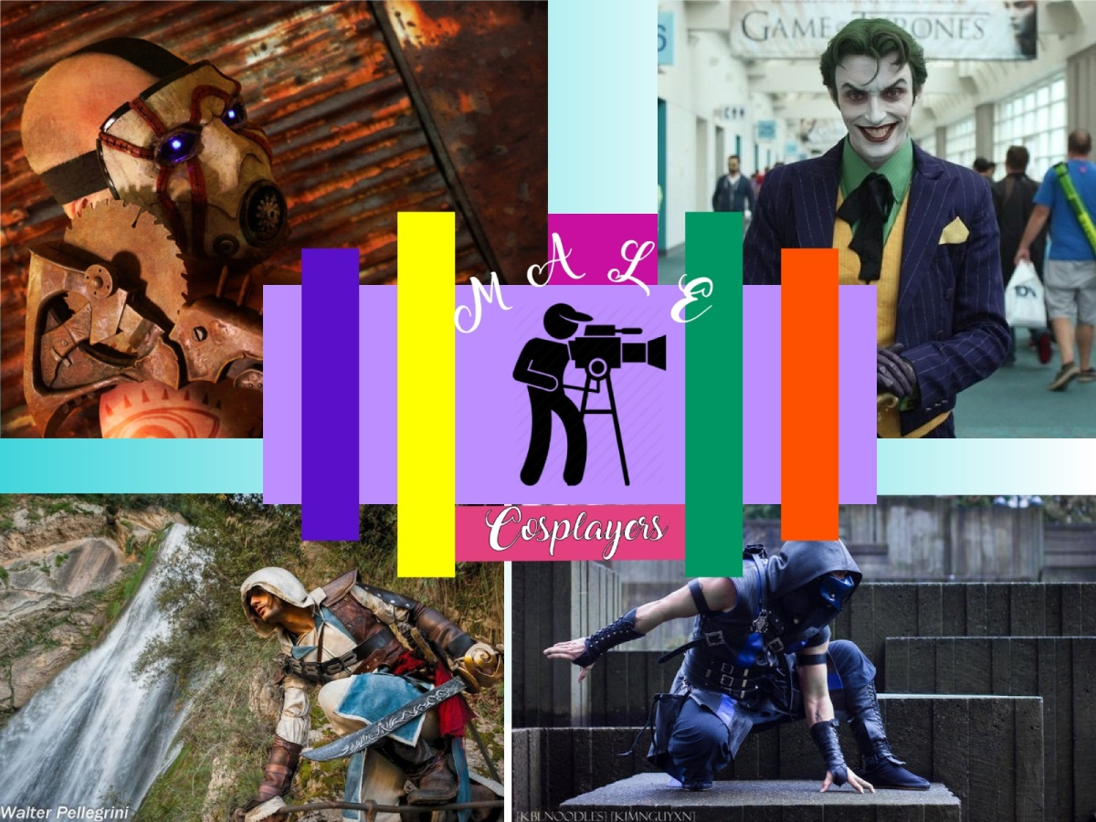 Famous Male Cosplayers (Part 1)