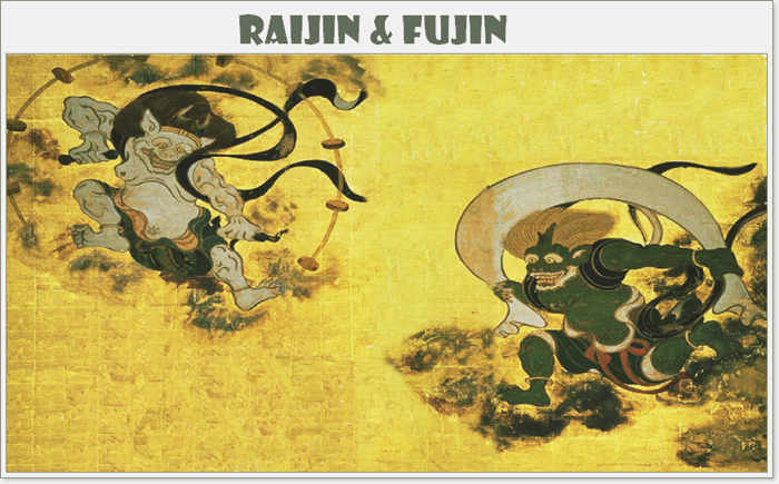 Raijin and Fujin